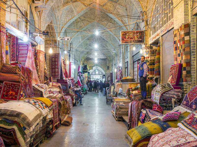 Markt in Kashan
